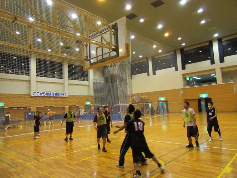 2015年5月 バスケ部 親善試合