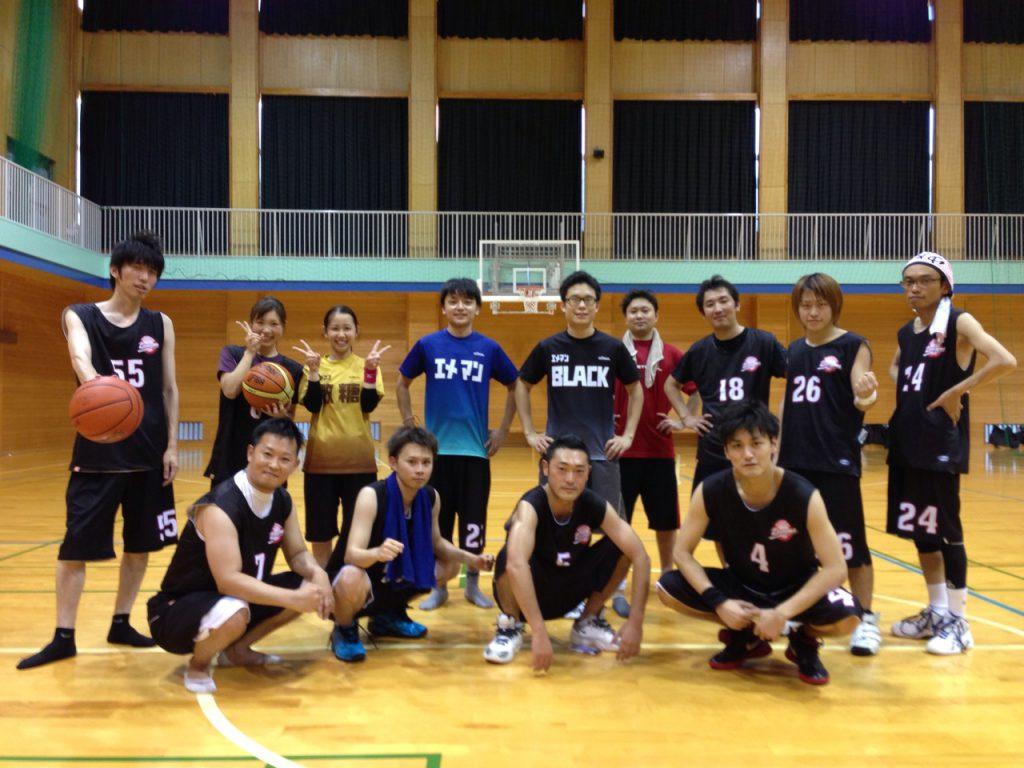 2014年5月 バスケ部活動