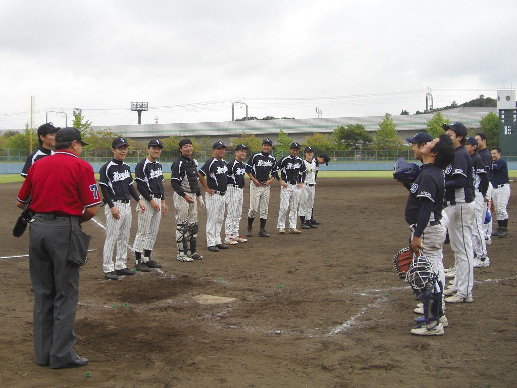 2014年9月 野球部 試合