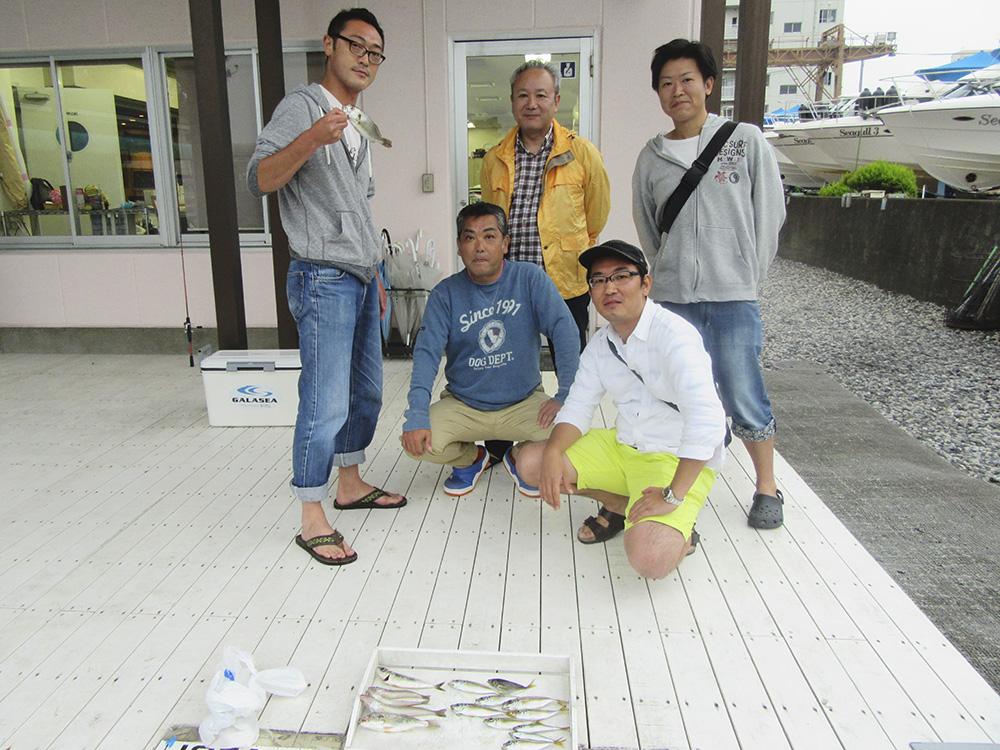 2015年8月 釣り同好会