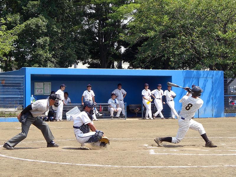 2014年8月 野球部 3社野球大会