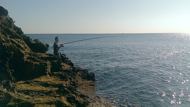 2014年10月 釣り同好会 房総半島