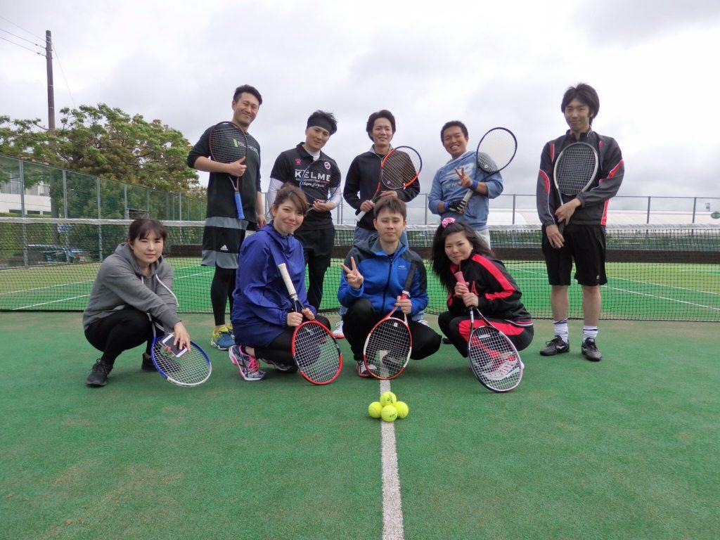 2018年6月7月 テニス部 練習